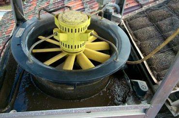 Slime and algae build up in Breeza Evaporative Air Cooler